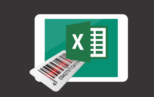 how to create a barcode inventory system in excel